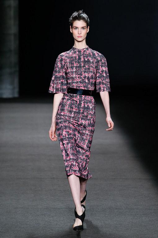 Monique Lhuillier New York Fashion Week autunno inverno 2014 2015