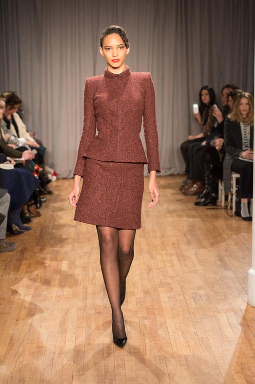 Zac Posen New York Fashion Week autunno inverno 2014 2015