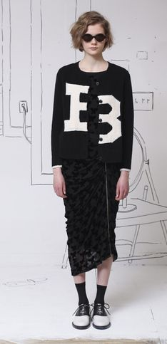 Band of Outsiders New York Fashion Week autunno inverno 2014 2015