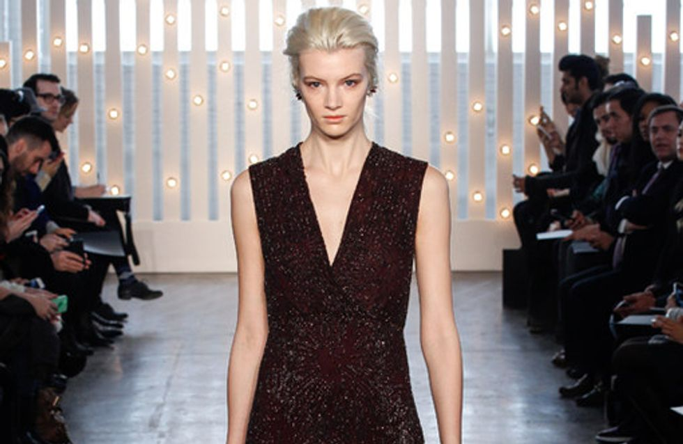 Jenny Packham New York Fashion Week autunno inverno 2014 2015