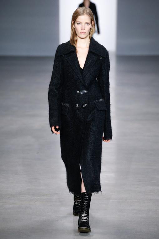 Modeshow Calvin Klein Prêt-à-Porter Herfst-Winter New York 2014-2015
