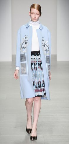 Holly Fulton London Fashion Week autunno inverno 2014 2015