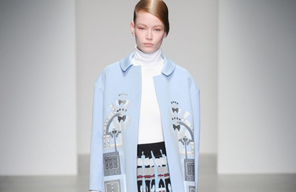 Holly Fulton London Fashion Week autunno inverno 2014 2015