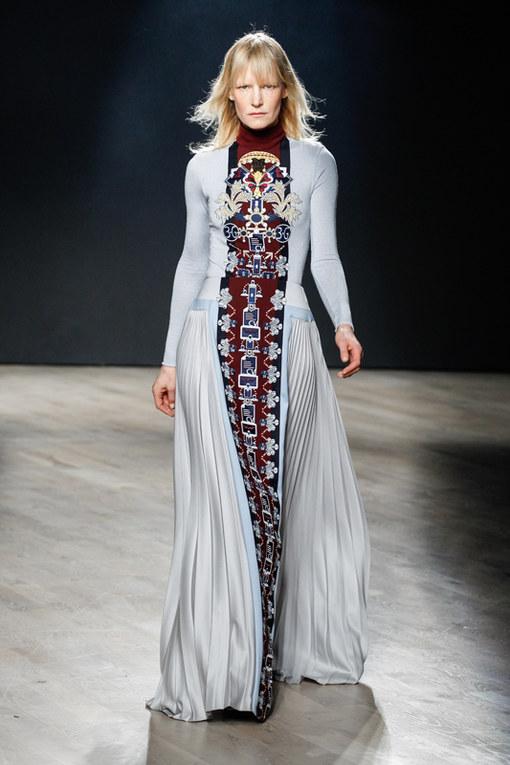 Mary Katrantzou London Fashion Week autunno inverno 2014 2015