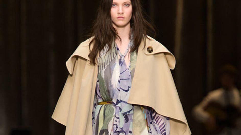 Es gibt eine neue It-Bag! Burberry Prorsum auf der London Fashion Week