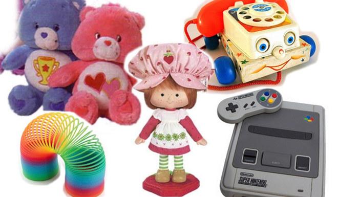 Kinderspielzeug von damals