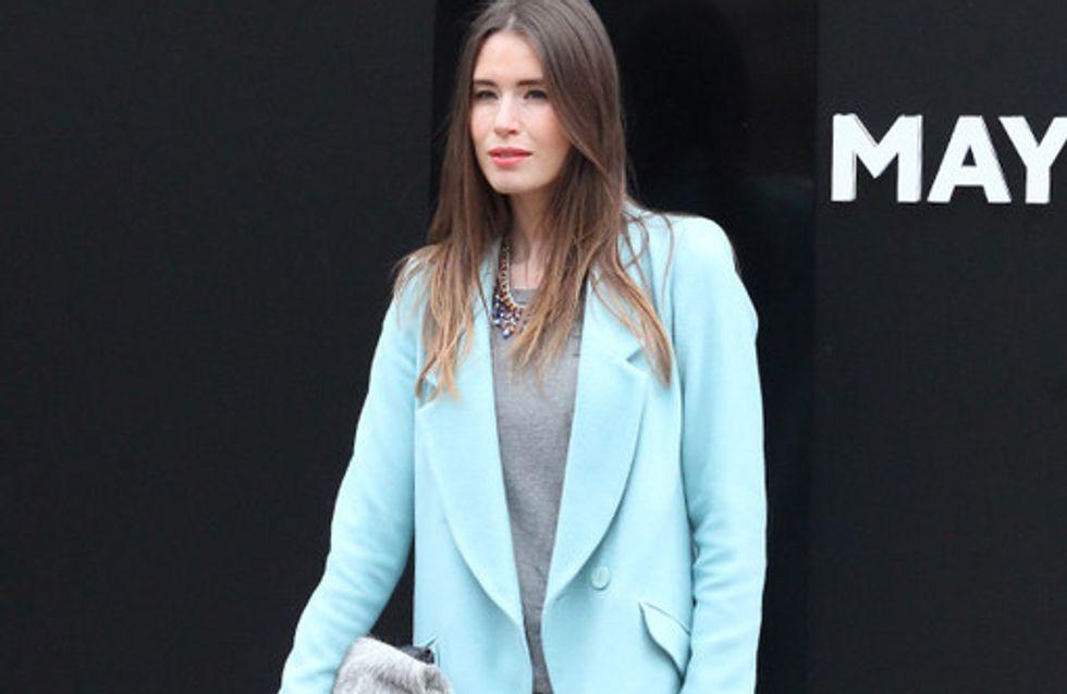 London Fashion Week street style autumn/winter 2014