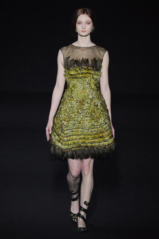 Sfilata Alberta Ferretti Milano Fashion Week autunno-inverno 2015