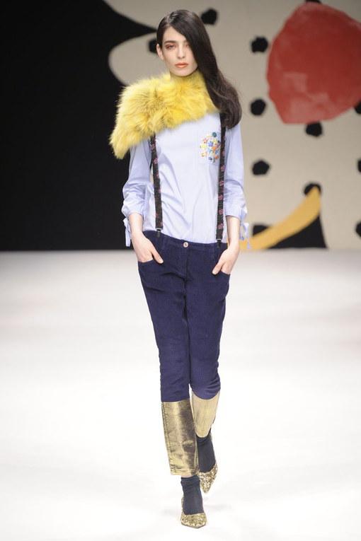 Sfilata Kristina Ti Milano Fashion Week autunno-inverno 2015