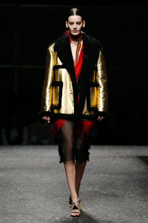 Sfilata Prada Milano Fashion Week autunno-inverno 2015