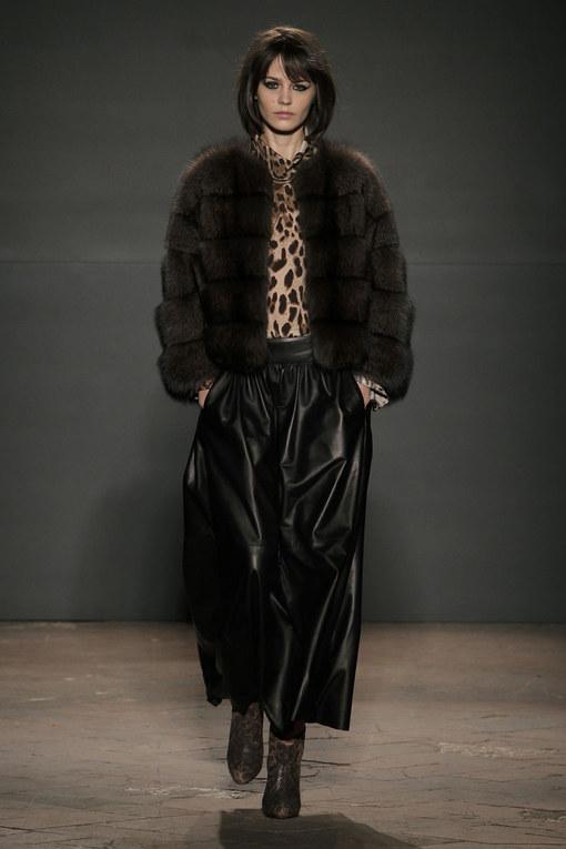 Sfilata Simonetta Ravizza Milano Fashion Week autunno-inverno 2015
