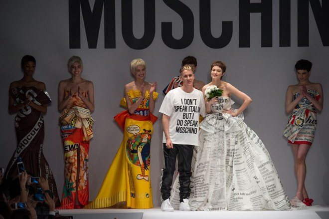 Sfilata Moschino Milano Fashion Week autunno-inverno 2015