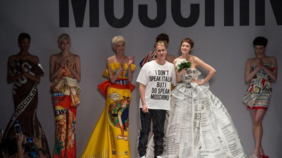 Moschino Milano Fashion Week autunno inverno 2014- 2015