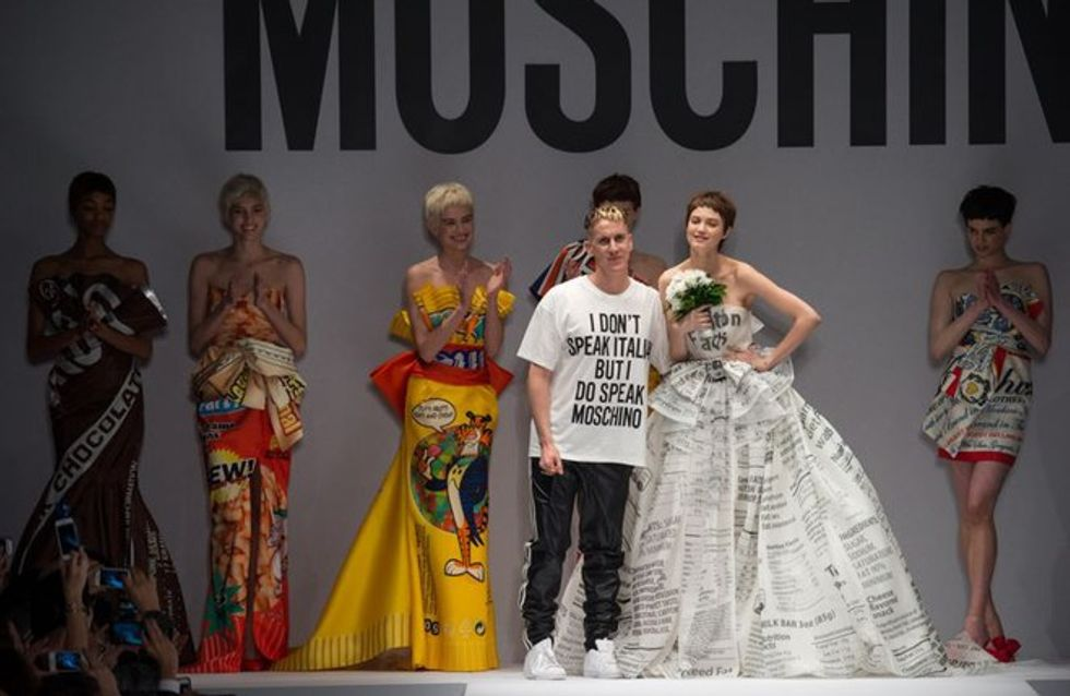 Moschino Milano Fashion Week autunno inverno 2014- 2015