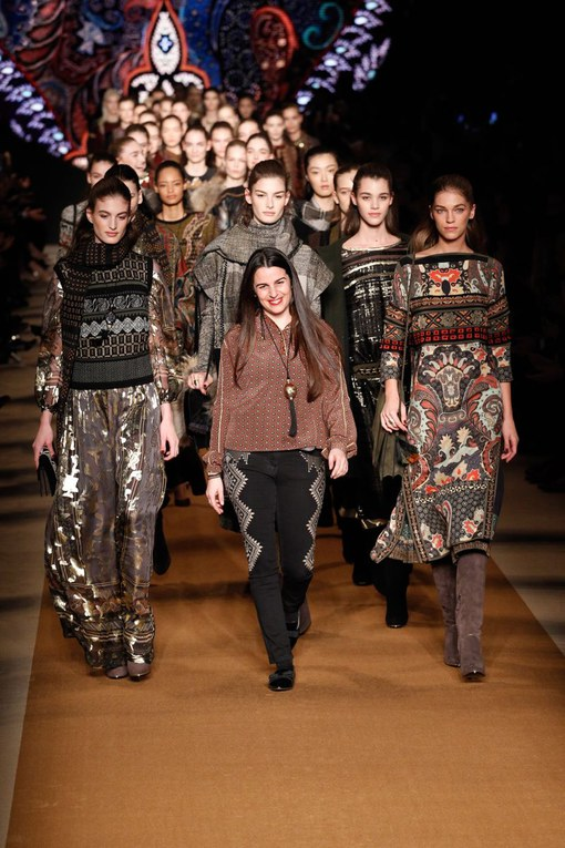 Sfilata Etro Milano Fashion Week autunno-inverno 2015