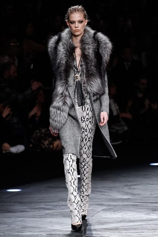 Sfilata Roberto Cavalli Milano Fashion Week autunno-inverno 2015