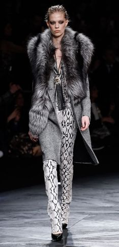 Roberto Cavalli Milano Fashion Week autunno-inverno 2015