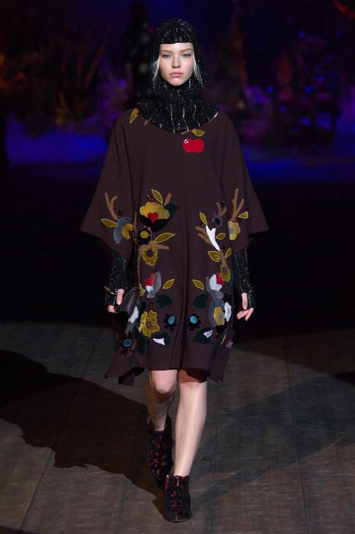 Défilé Dolce & Gabbana Prêt-à-Porter Milan Automne-Hiver 2014-2015