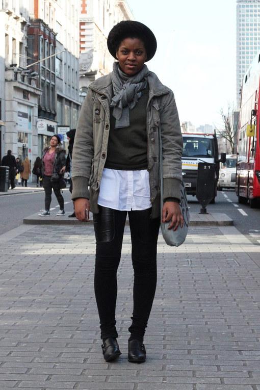 London Street Style February 2014