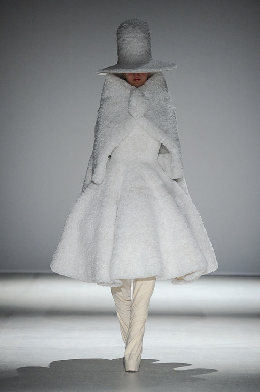 Gareth Pugh Paris Fashion Week autunno inverno 2014 2015