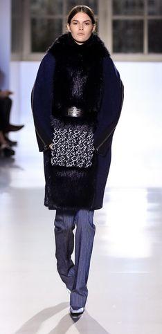 Balenciaga, de laine et de cuir