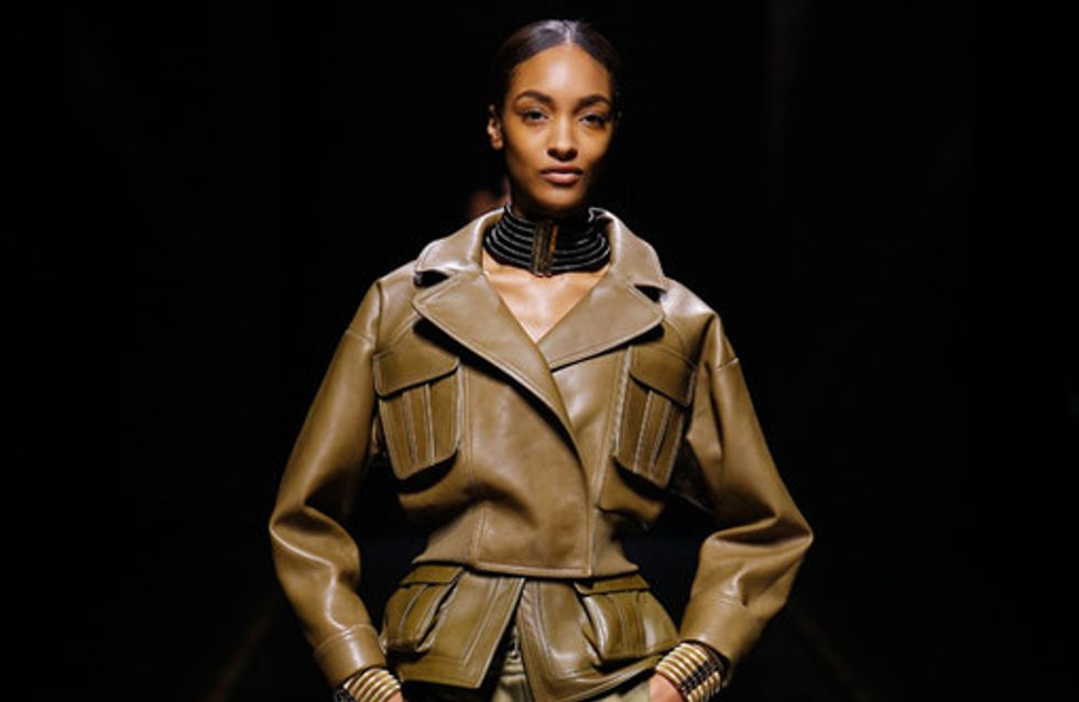 Balmain Paris Fashion Week autunno inverno 2014 2015