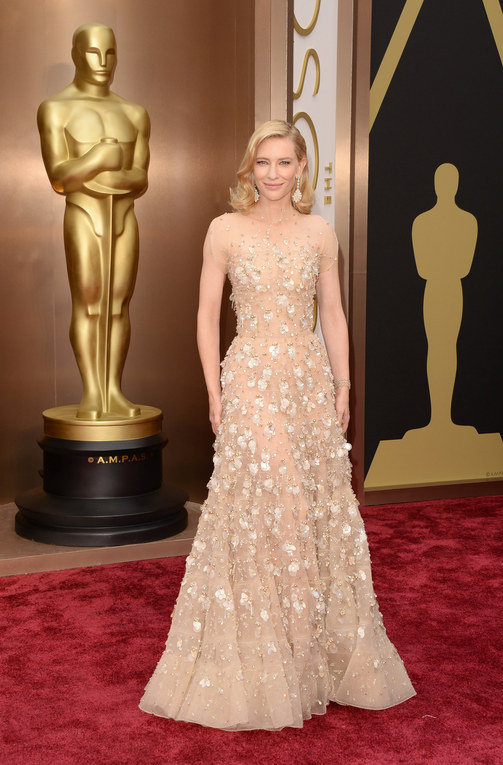 Oscars 2014: Award Winning Dresses And Dudes