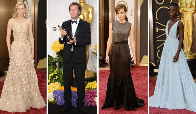 Oscar 2014. Tutti i look sul red carpet