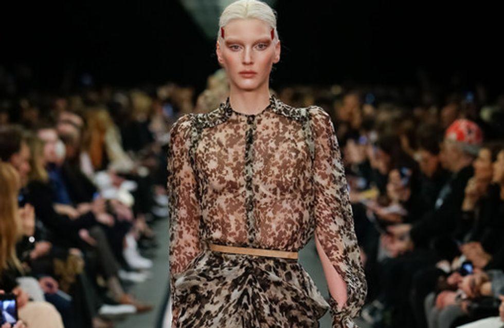 Givenchy Paris Fashion Week autunno inverno 2014 2015