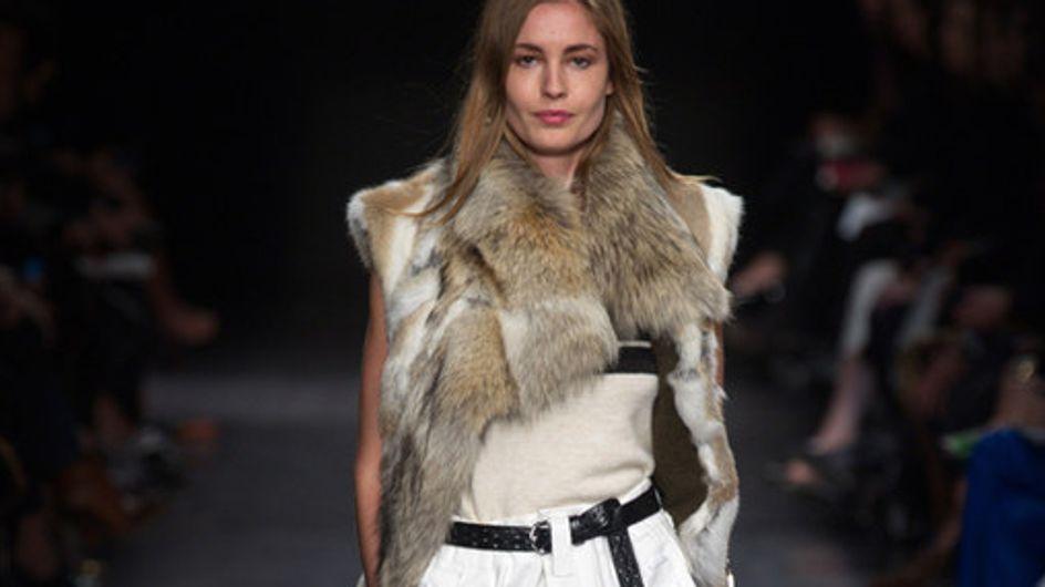 Isabel Marant Paris Fashion Week autunno inverno 2014 2015