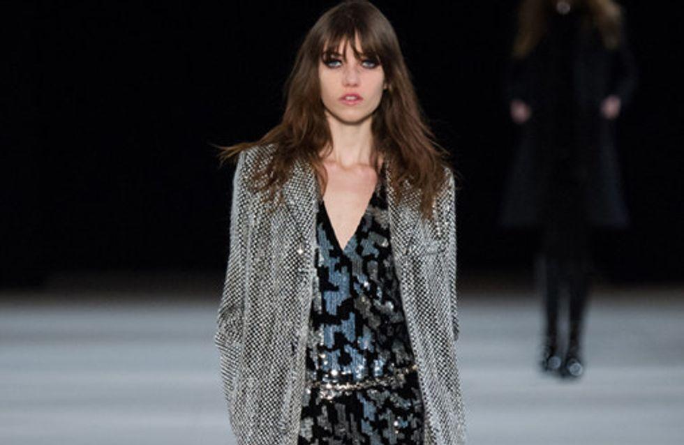 Saint Laurent Paris Fashion Week autunno inverno 2014 2015
