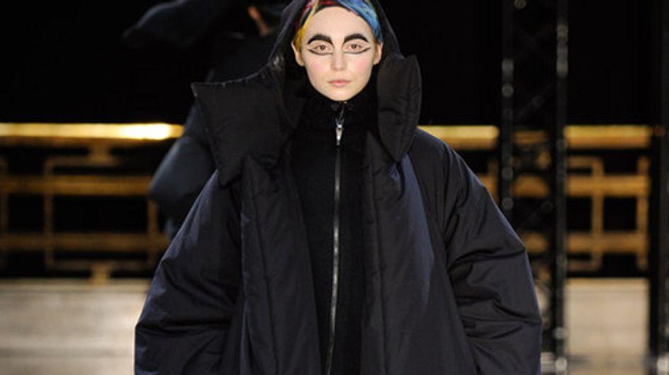 Yohji Yamamoto Paris Fashion Week autunno inverno 2014 2015