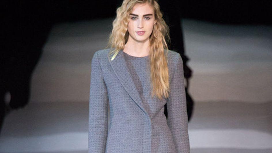 Giorgio Armani Milano Fashion Week autunno inverno 2014 2015