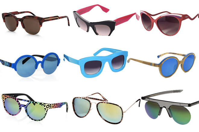 Gli occhiali da sole per l'estate 2014