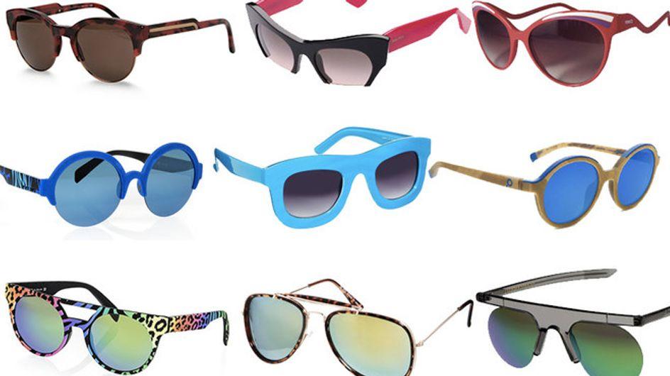 Fluo, geometrici e oversize. Gli occhiali da sole per l'estate