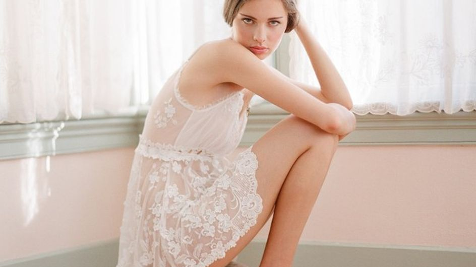 Bianco e delicato. Scopri l'intimo ideale per la sposa