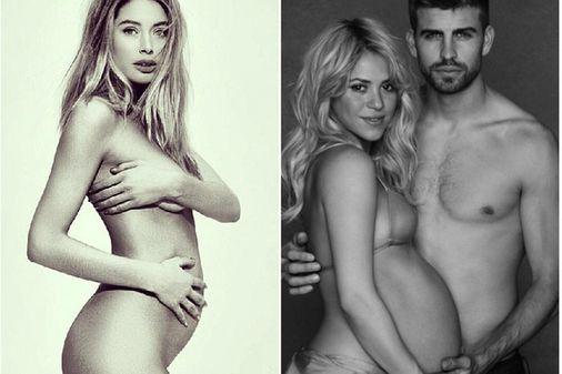Grávidas famosas   Doutzen Kroes e Shakira