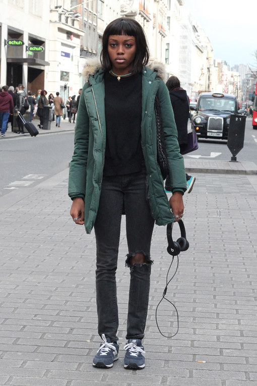 London Street Style March 2014