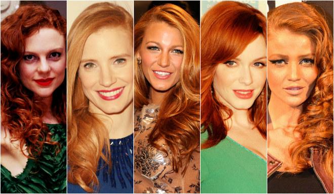 Famosas ruivas: os tons de vermelho dos cabelos das celebridades