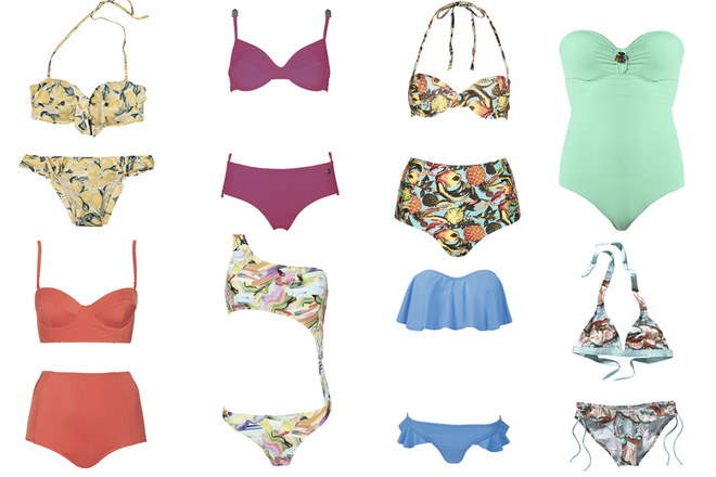 Tutti i costumi per l'estate 2014