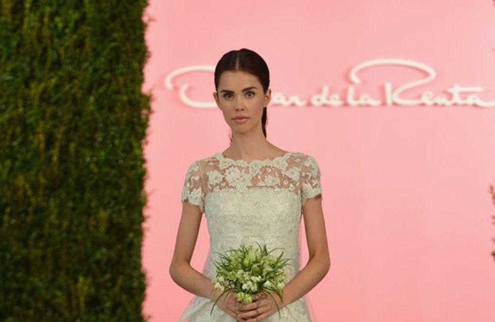 Oscar de la Renta New York Bridal Week primavera 2015