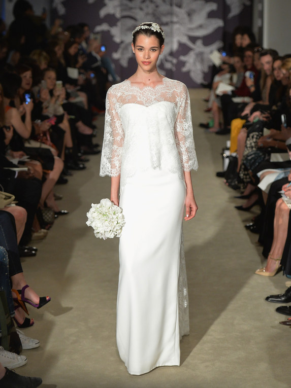 Carolina Herrera New York Bridal Week primavera 2015