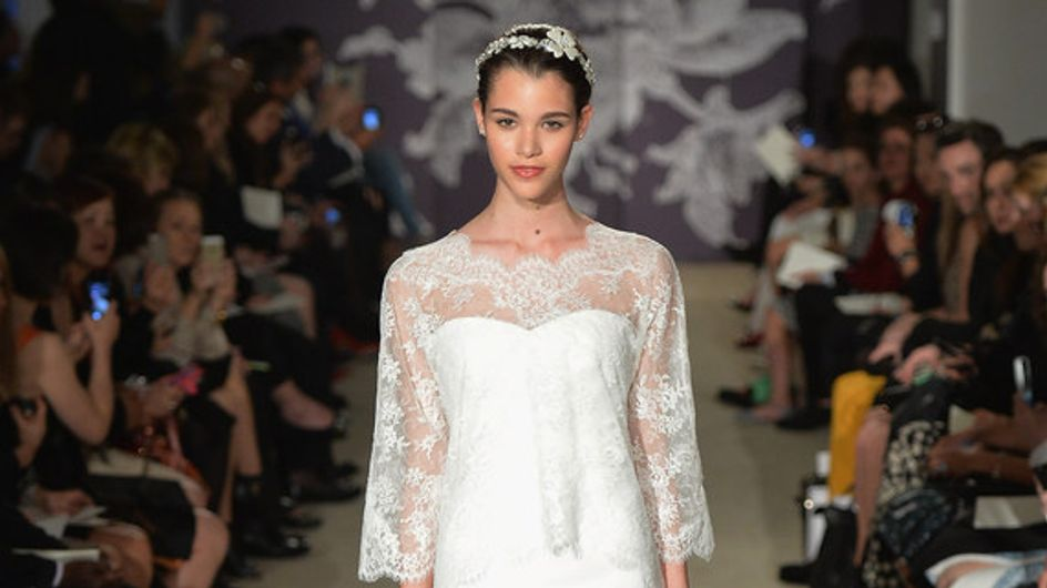 Carolina Herrera New York Bridal Week primavera 2015