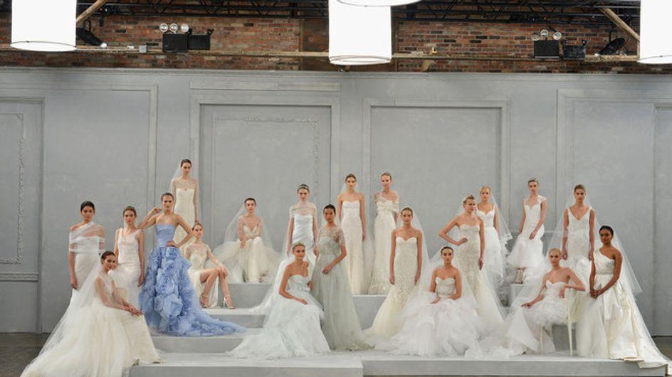New York Bridal Week Spring 2015 - Monique Lhuillier