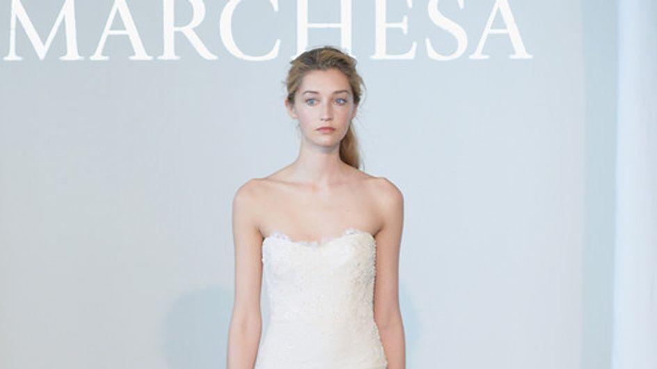 Marchesa New York Bridal Week primavera 2015