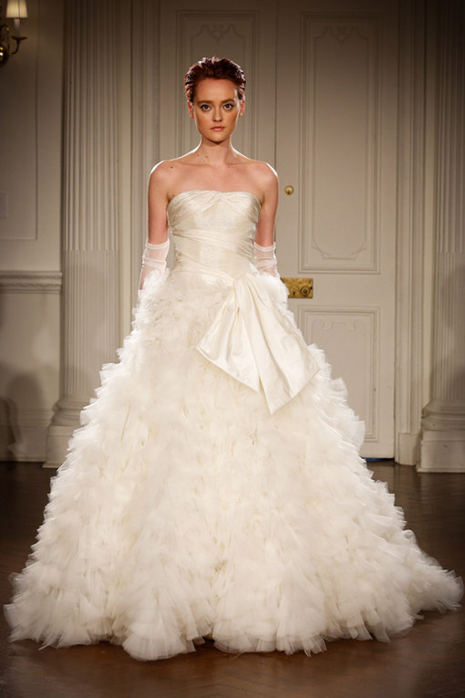 Peter Langner New York Bridal Week primavera 2015