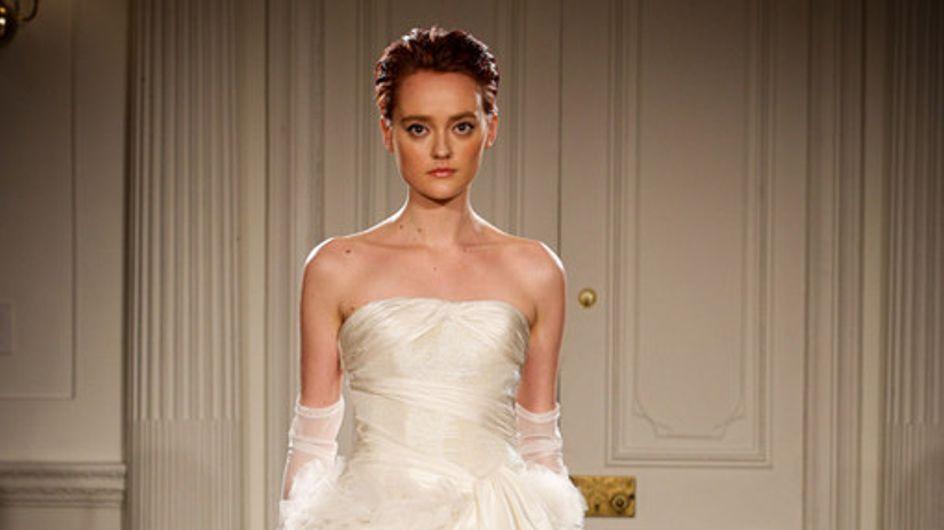 Peter Langner New York Bridal Week primavera 2015
