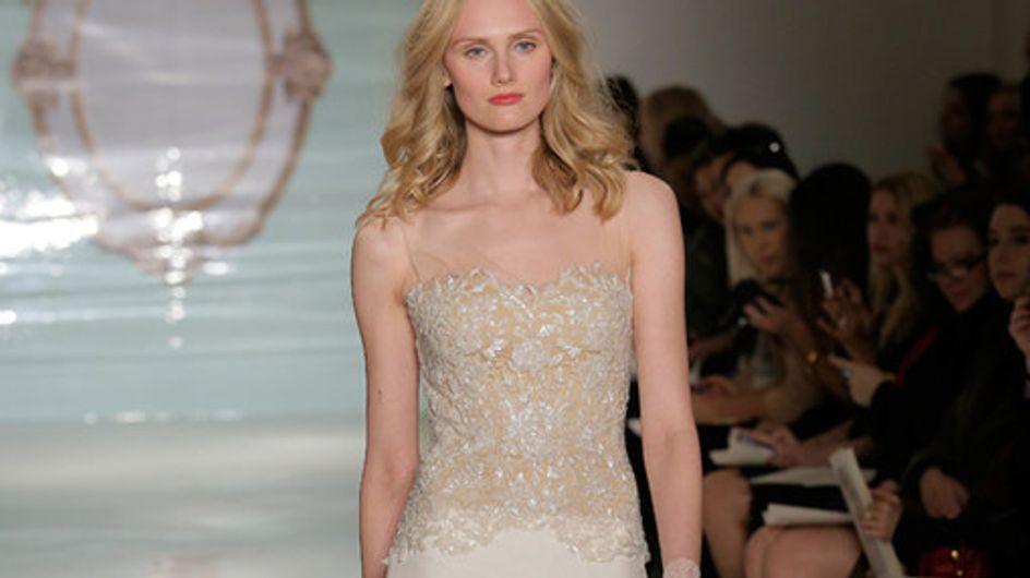 Reem Acra New York Bridal Week primavera 2015