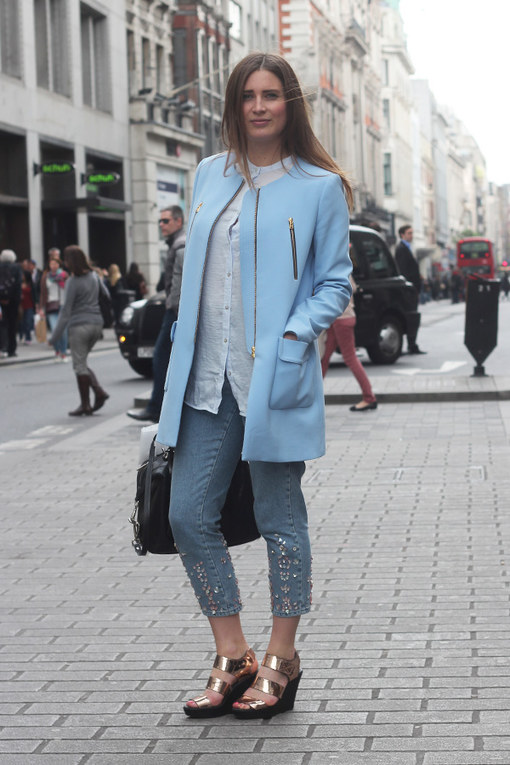 London Street Style April 2014