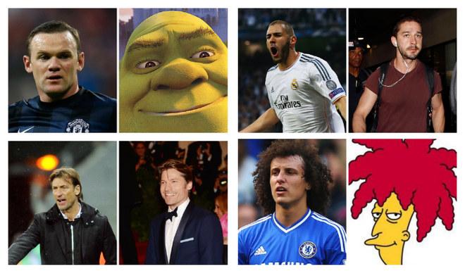 Personalidades do futebol e seus sósias